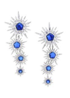 Adriana Orsini Drama Star Drop Earrings