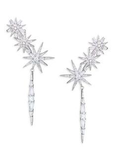 Adriana Orsini Drop Climber Earrings