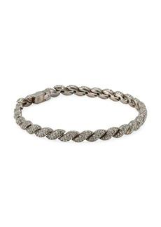 Flexible Swarovski Crystal Line Bracelet