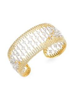 Adriana Orsini Greta Crystal Cuff Bracelet