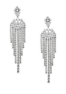 Adriana Orsini Leia Swarovski Crystal Chandelier Drop Earrings