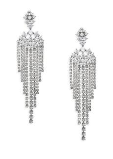 Leia Swarovski Crystal Chandelier Drop Earrings