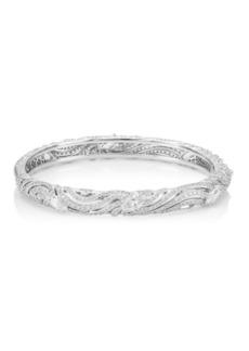 Lush Crystal Hinge Bracelet