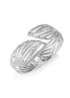 Adriana Orsini Lush Crystal Hinge Bracelet