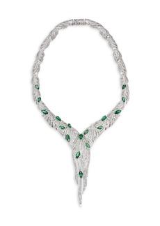 Adriana Orsini Lush Drama Crystal Y Necklace