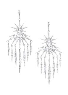 Adriana Orsini Nova Crystal Fringe Chandelier Drop Earrings