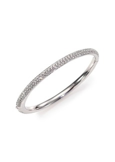 Pavé Crystal Bangle Bracelet