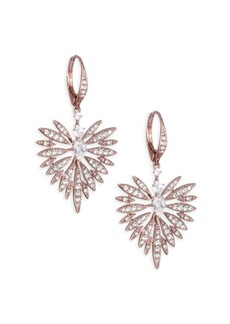 Adriana Orsini Small Swarovski Crystal Burst Earrings