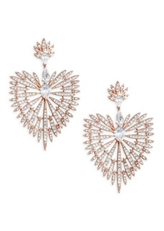 Adriana Orsini Swarovski Crystal Burst Drop Earrings