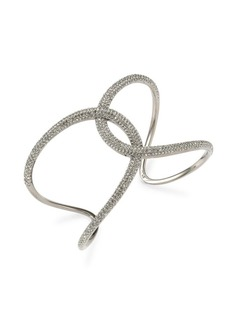 Swarovski Crystal Interlock Open Cuff