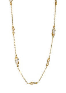 Swarovski Crystal Long Station Necklace