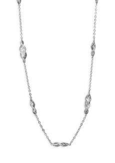 Adriana Orsini Swarovski Crystal Long Station Necklace