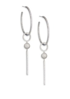 Adriana Orsini Updates Linear Hoop Earrings