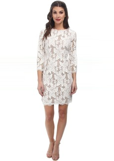 Adrianna Papell 3/4 Sleeved Cocktail Dress