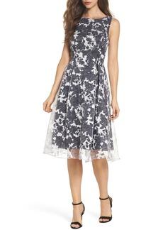 Adrianna Papell Alyssa Fit & Flare Dress