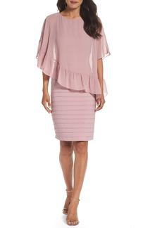 Adrianna Papell Banded Sheath Dress
