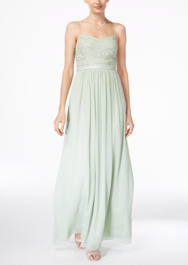 Adrianna Papell Adrianna Papell Beaded Chiffon Gown | Dresses