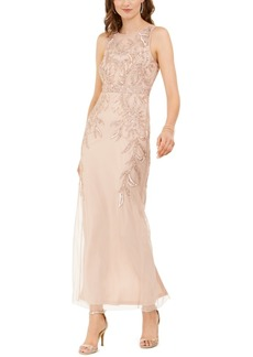 Papell Studio by Adrianna Papell Beaded Gown