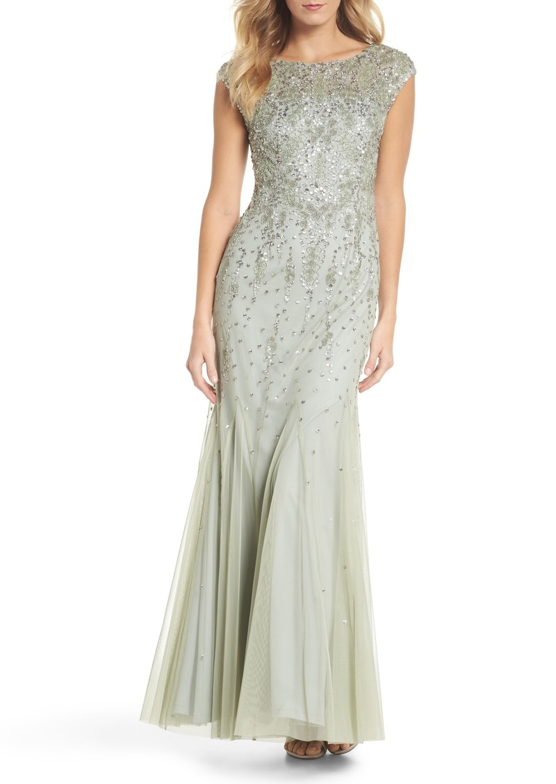 Adrianna Papell Adrianna Papell Beaded Mermaid Gown | Dresses - Shop ...