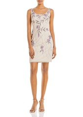 Adrianna Papell Beaded Sheath Dress - 100% Exclusive