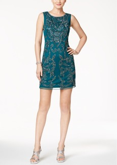 Adrianna Papell Beaded Sheath Dress
