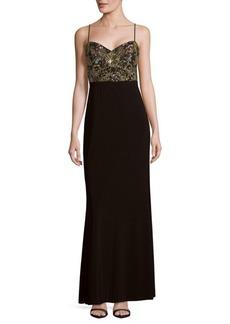 Adrianna Papell Beaded Sleeveless Dress