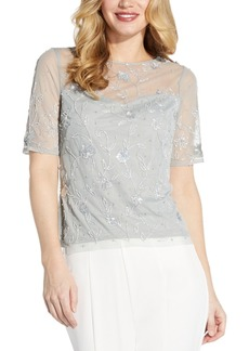 Adrianna Papell Beaded Top