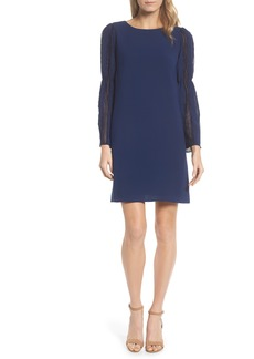Adrianna Papell Bell Sleeve Trapeze Dress