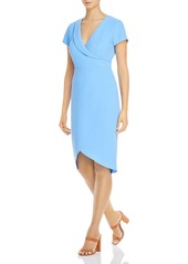 Adrianna Papell Cameron Faux-Wrap Dress - 100% Exclusive