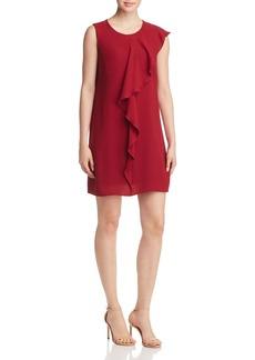 Adrianna Papell Cascading Ruffle Dress