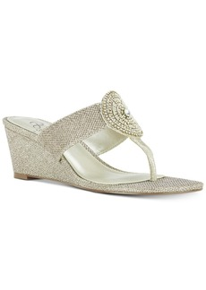 Adrianna Papell Casey Wedge Sandals Women's Shoes