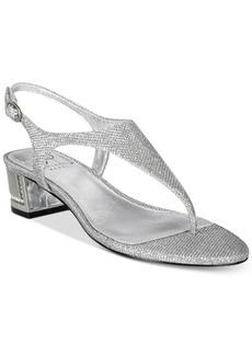 Adrianna Papell Cassidy Block-Heel Evening Sandals Women's Shoes