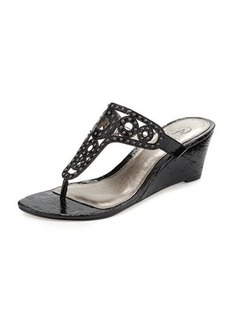 Adrianna Papell Ceci Studded Wedge Sandal