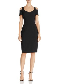 Adrianna Papell Cold-Shoulder Sheath Dress - 100% Exclusive