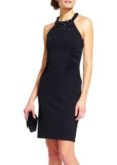 Adrianna Papell Crepe Sheath Dress