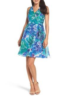 Adrianna Papell Dahlia Fit & Flare Dress