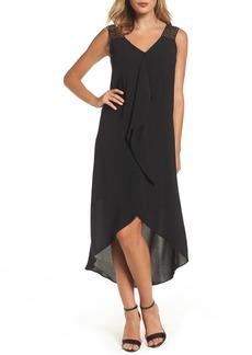 Adrianna Papell Drape Front Shift Dress