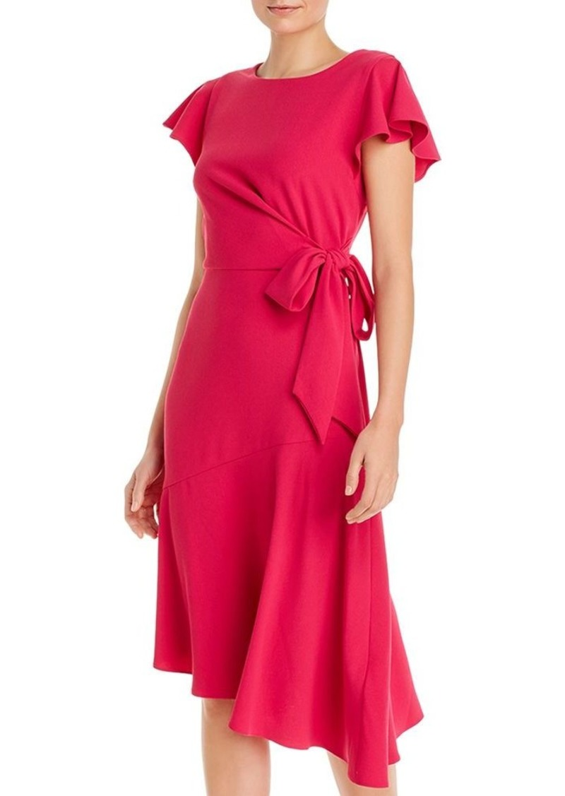 Adrianna Papell Draped Divine Crepe Dress