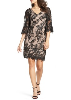 Adrianna Papell Eillen Embroidered Lace Dress