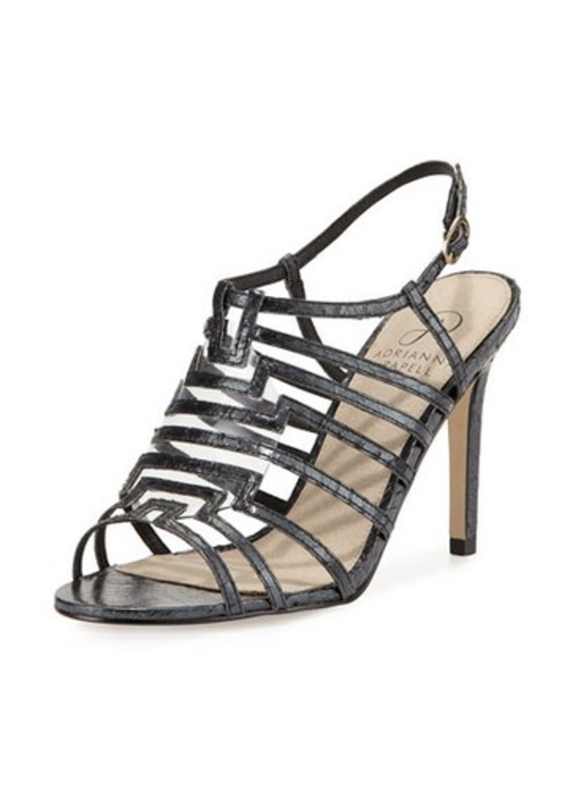 Adrianna Papell Emanuelle Snakeskin High-Heel Sandal