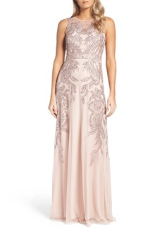 Adrianna Papell Embellished Gown (Regular & Petite)
