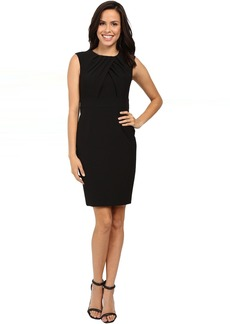 Adrianna Papell Faux Overlapping Bodice Sheath Dress