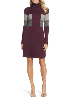 Adrianna Papell Fit & Flare Sweater Dress