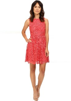 Adrianna Papell Fit & Flare Venice Lace Dress