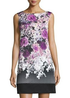 Adrianna Papell Floral-Print Shift Dress