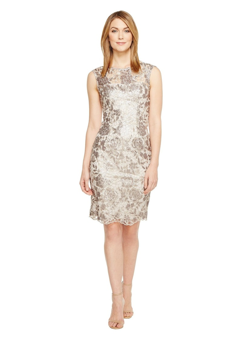 c19f437b Adrianna Papell Floral Sequin Embroidered Sheath Dress | Dresses