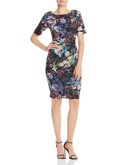 Adrianna Papell Floral Sheath Dress - 100% Exclusive