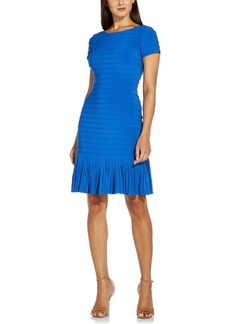 Adrianna Papell Flounce-Hem Bodycon Dress