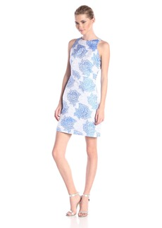 Adrianna Papell Hailey Women's Sleeveless Floral-Print Dress