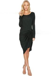 Adrianna Papell Jaspee Knit Scoop Neck Knit Dress